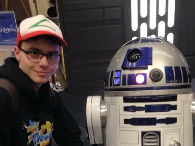 CanAqua Camp and R2D2