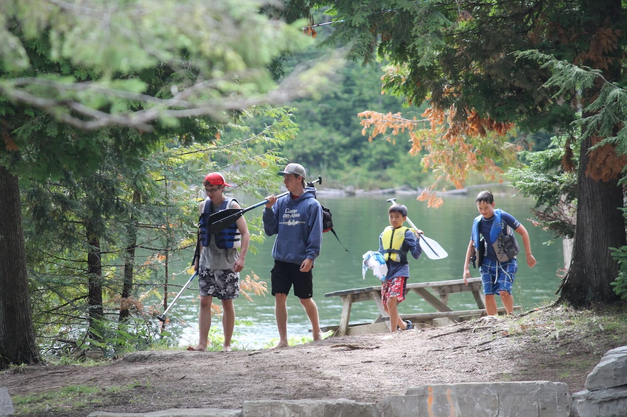 At the Canoe Area