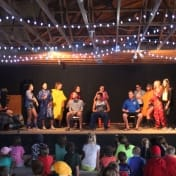 Campers show off their talents in the Rec Hall