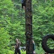 Introducing the Tree Climbing initiative at camp