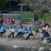Tug of war in the waterfront