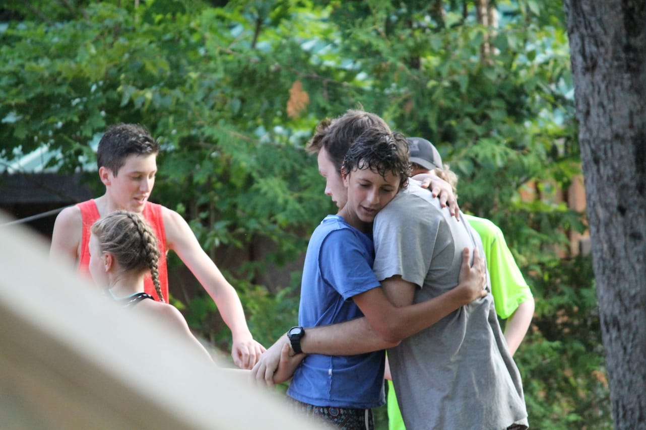 Friendship is everywhere at camp