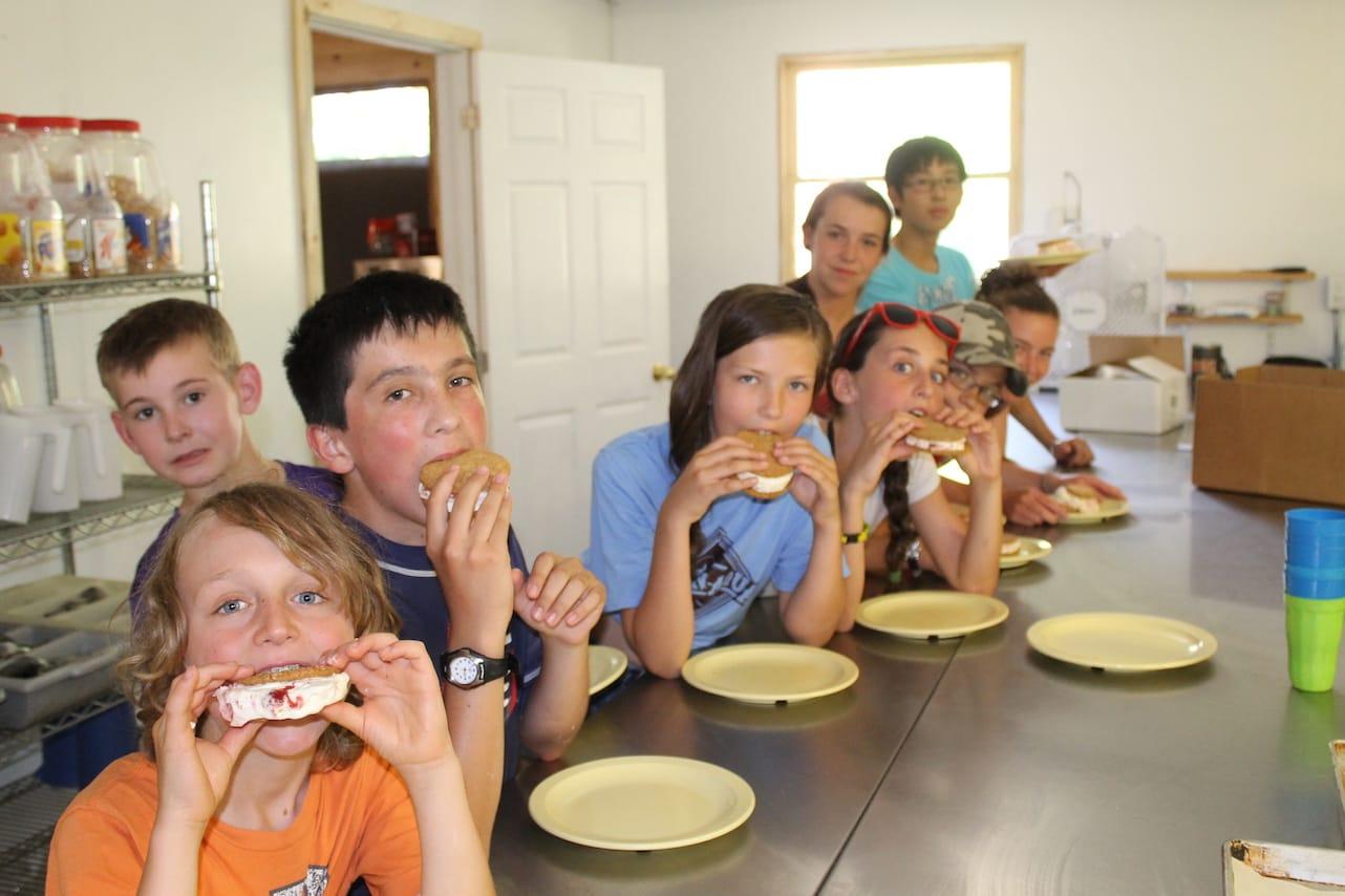 Ontario Camp Can-Aqua Summer Camp homemade ice cream