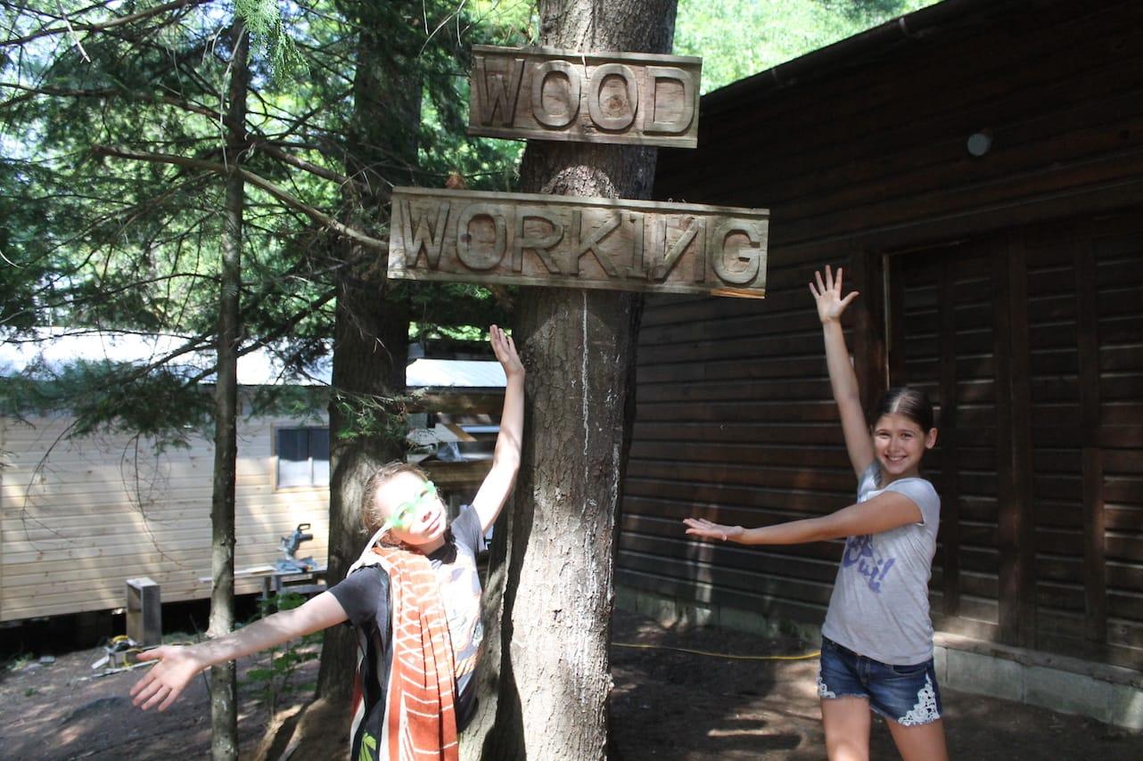 Ontario Camp Can-Aqua Summer Camp woodworking