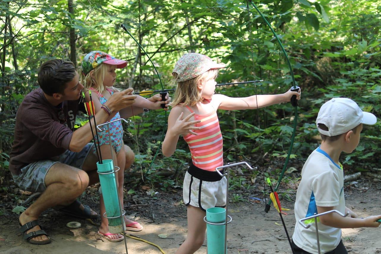 Ontario Camp Can-Aqua Summer Camp archery