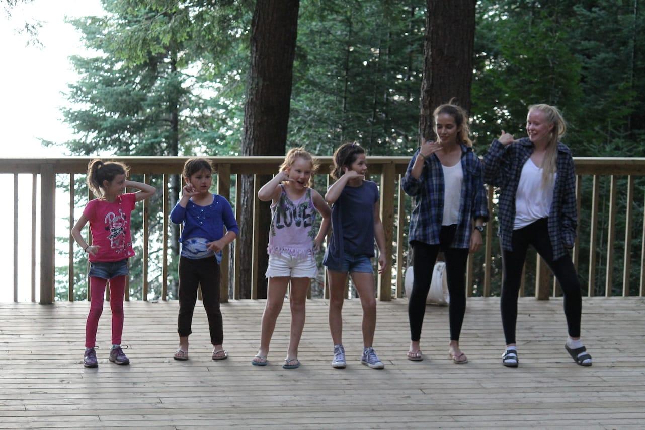 Ontario Camp Can-Aqua Summer Camp talent show