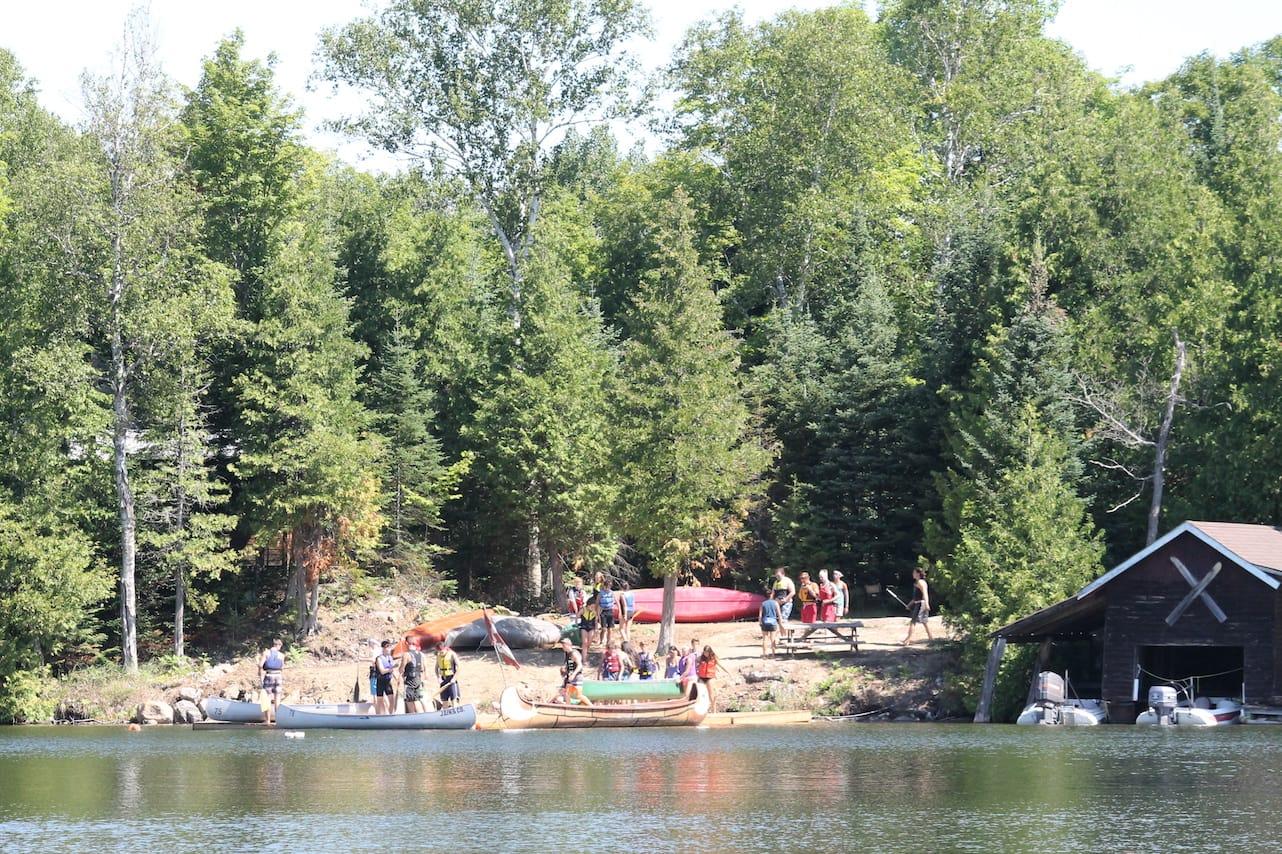 Ontario Camp Can-Aqua Summer Camp waterfront