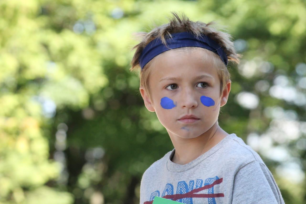 Ontario Camp Can-Aqua Summer Camp in blue