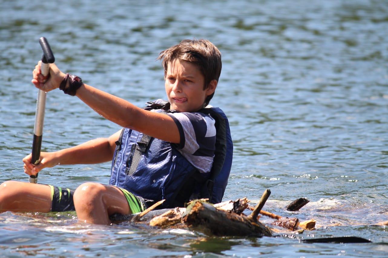 Ontario Camp Can-Aqua Summer Camp raft race2