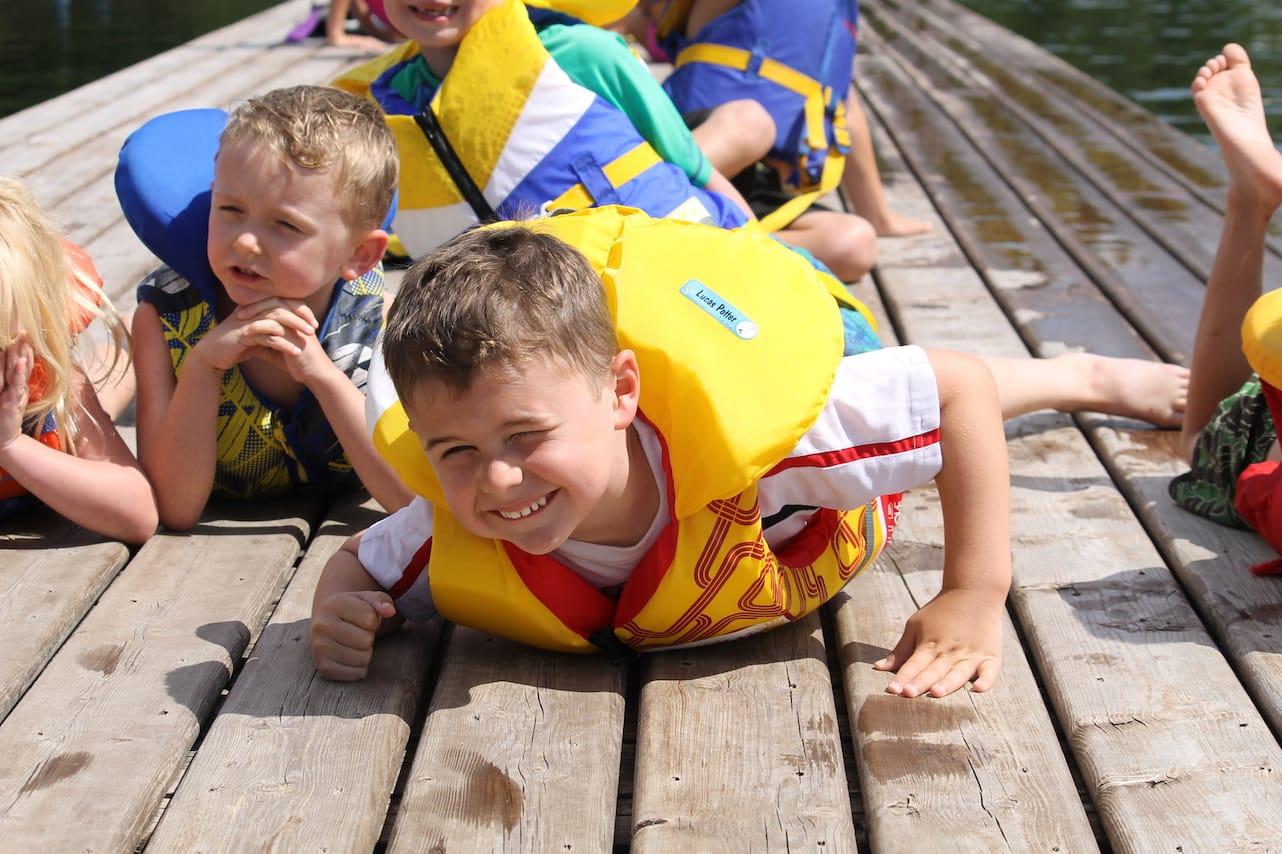 Ontario Camp Can-Aqua Summer Camp loving it