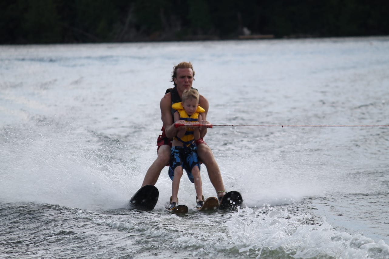 Ontario Camp Can-Aqua Summer Camp assisted waterski