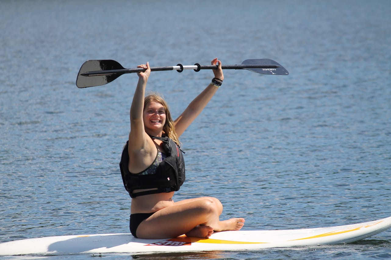 Ontario Camp Can-Aqua Summer Camp Stand Up Paddle Board