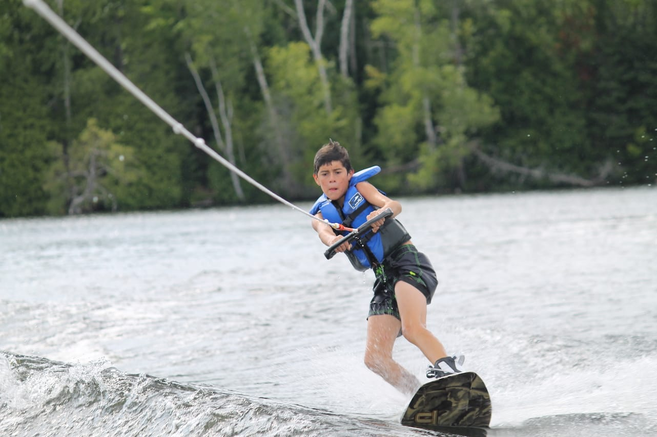 Ontario Summer Camp Wakeboard Lessons