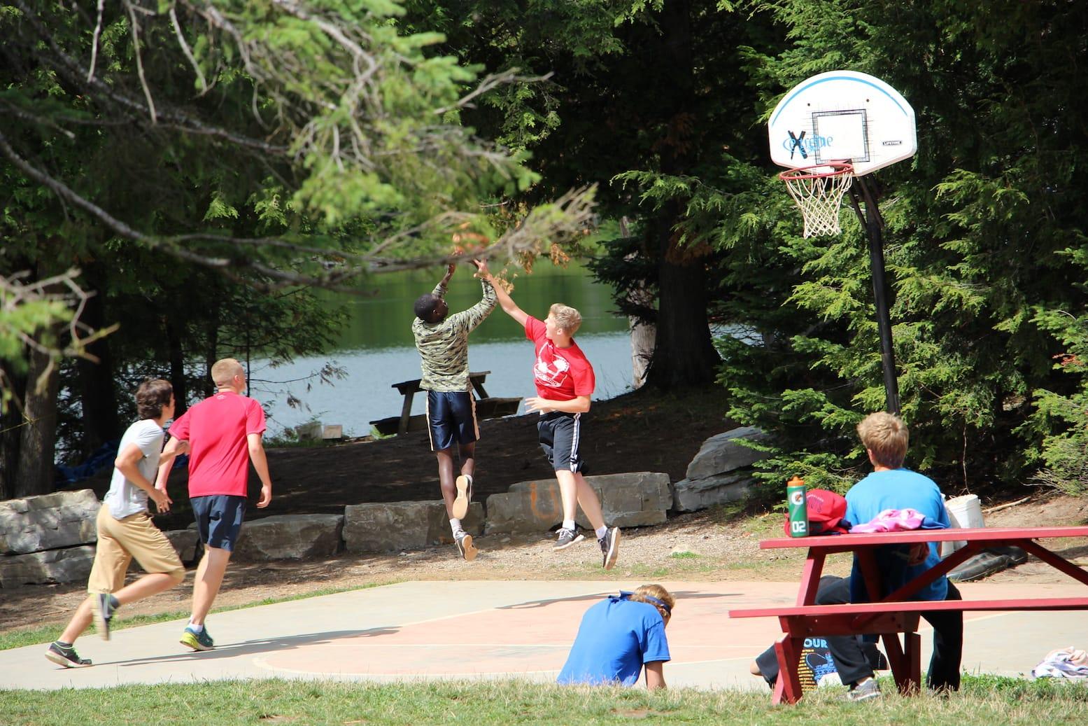 Ontario Summer Camp Can-Aqua Basketball