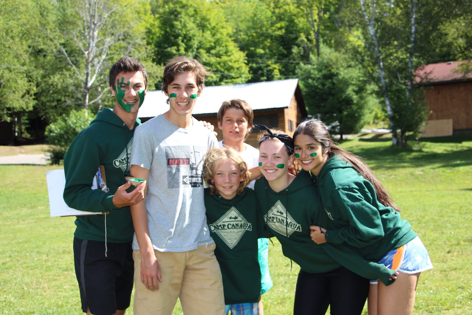 Ontario Summer Camp Can-Aqua Colour Wars