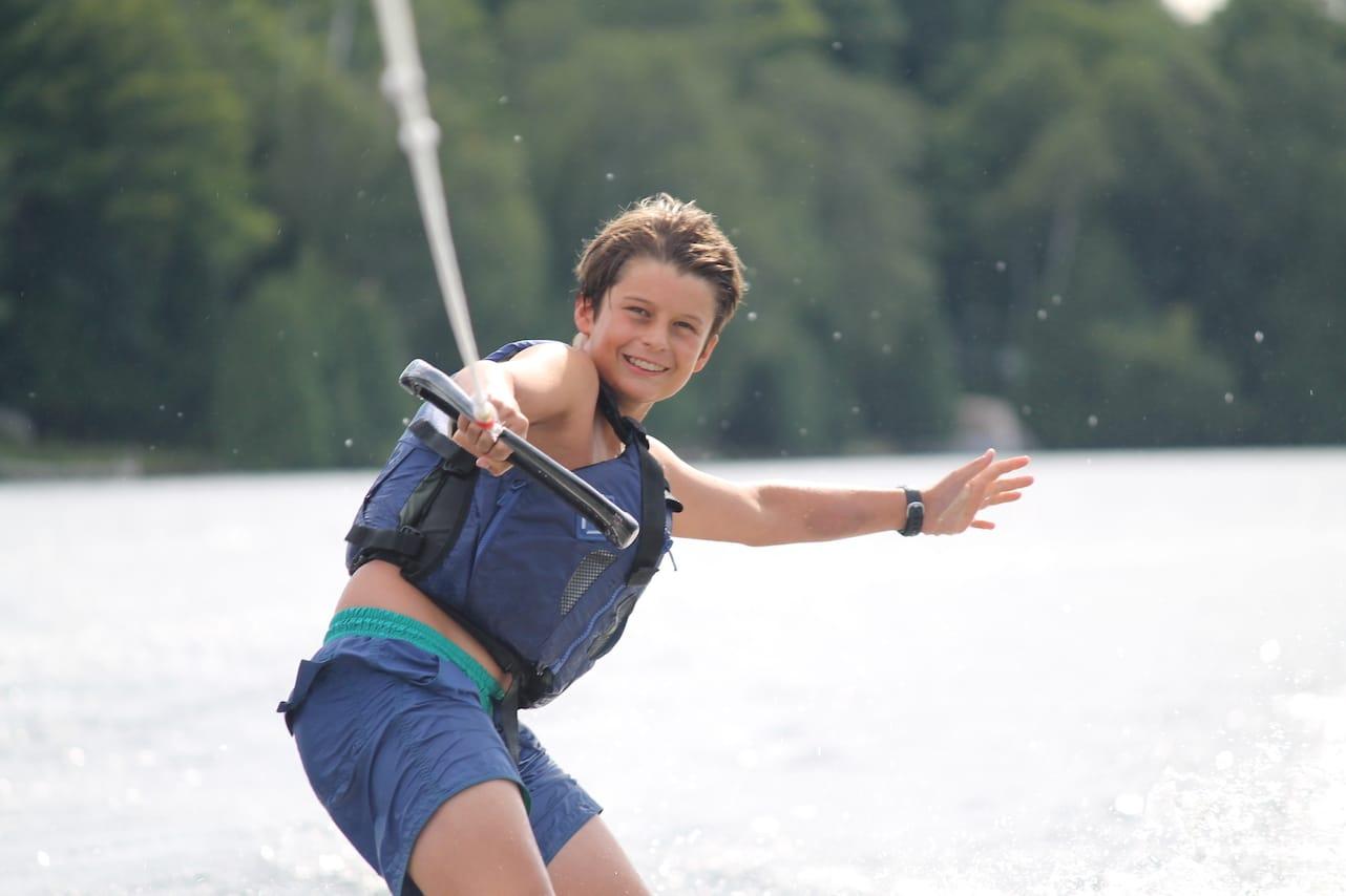Ontario Summer Camp Can-Aqua Wake boarding