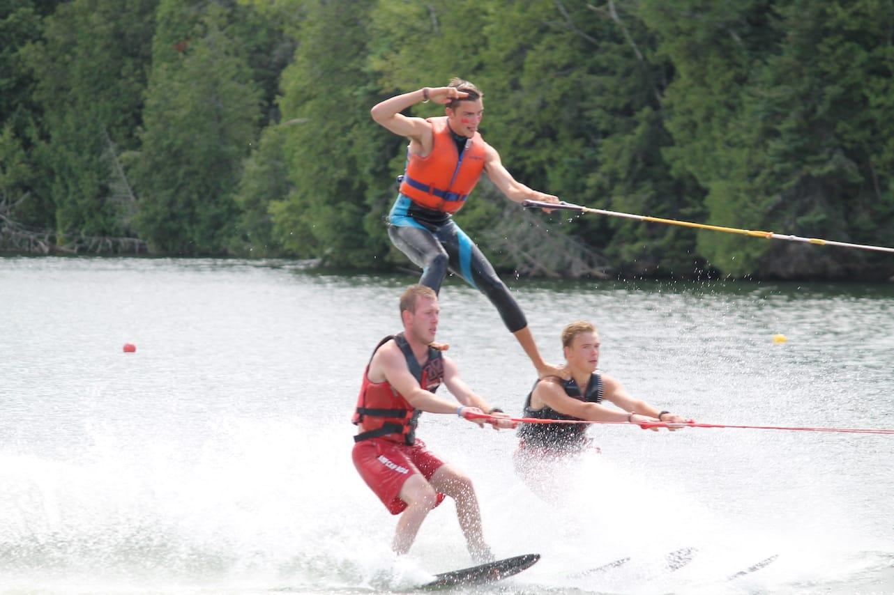 Ontario Summer Camp Can-Aqua ski show