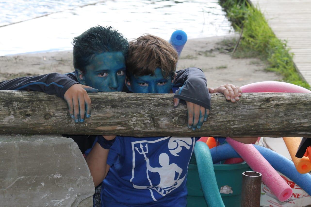 Ontario Summer Camp Can-Aqua team spirit