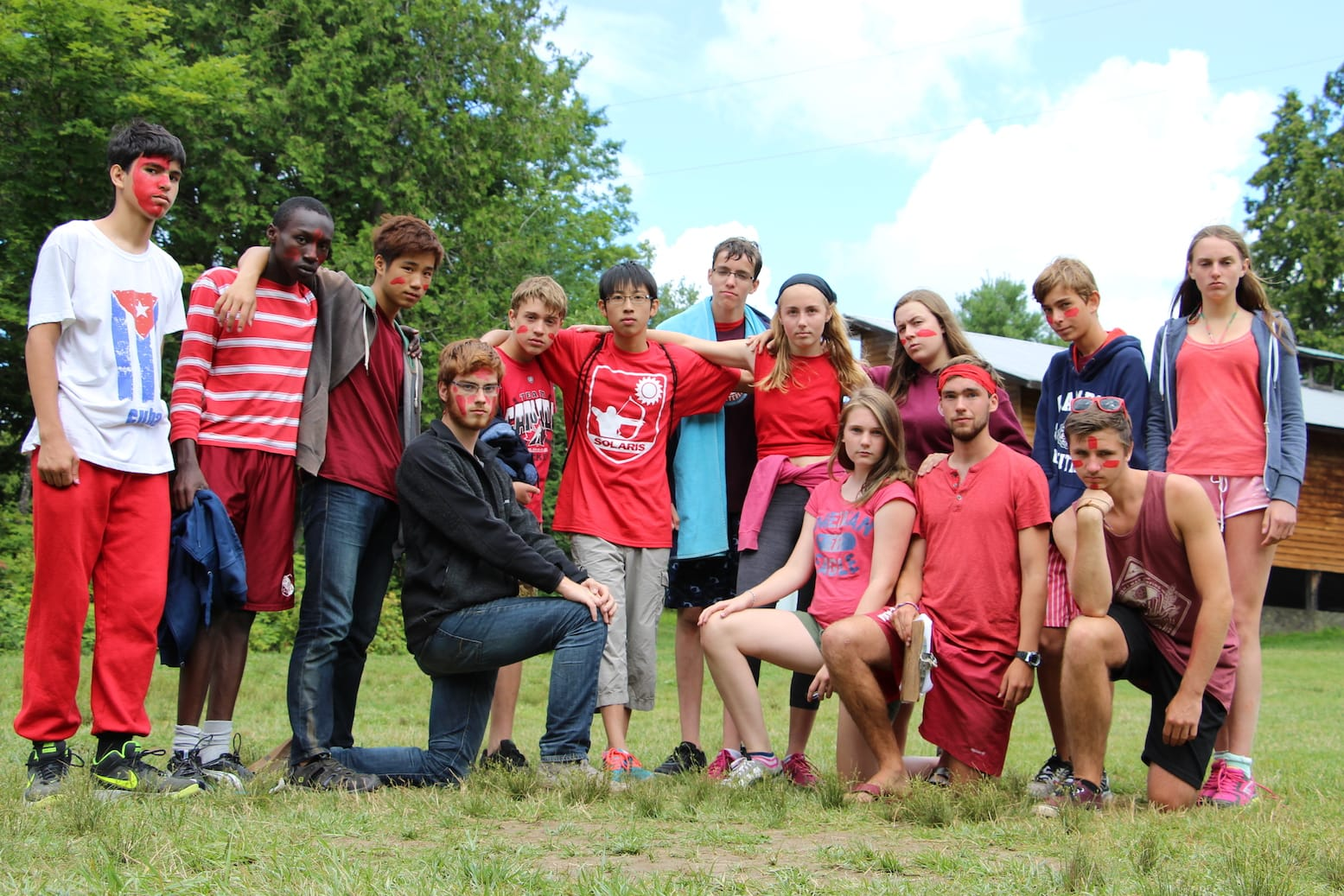Ontario Summer Camp Can-Aqua team play