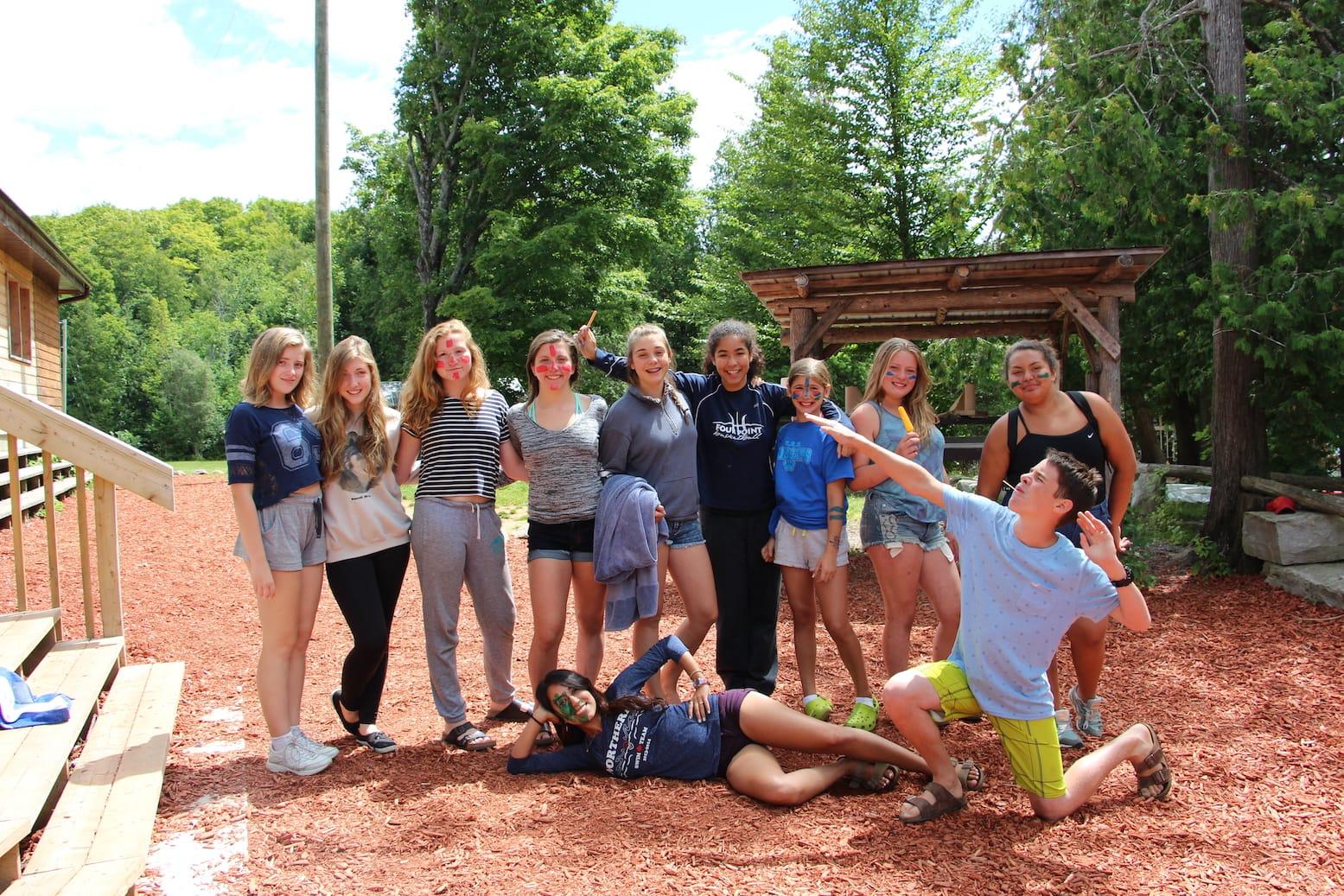 Ontario Summer Camp Can-Aqua Teamwork