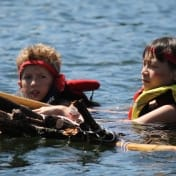 Ontario Camp Can-Aqua Summer Camp raft race