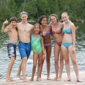 Ontario Camp Can-Aqua Summer Camp on the dock