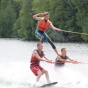 Ontario Summer Camp Can-Aqua ski show