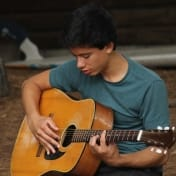 Guitar at Camp