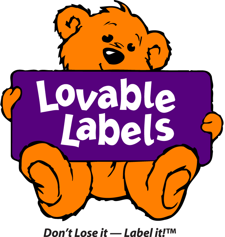 lovable labels - don't lose it - label it